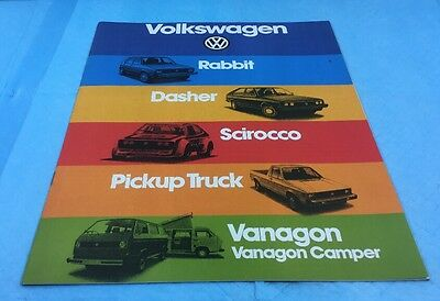 Vw Different Models Sales Brochure  Usa Edition