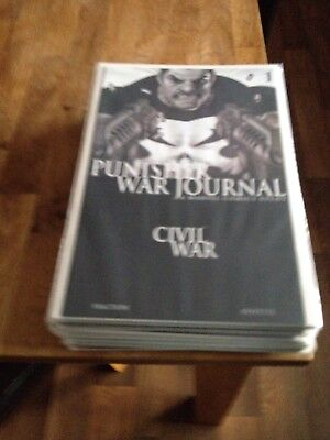 Punisher War Journal 1-26 (2007-2009) full unbroken run