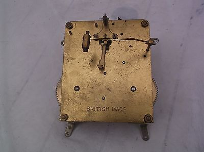 A Mechanism  From An  Old English  Mantle Clock  Spares/repair