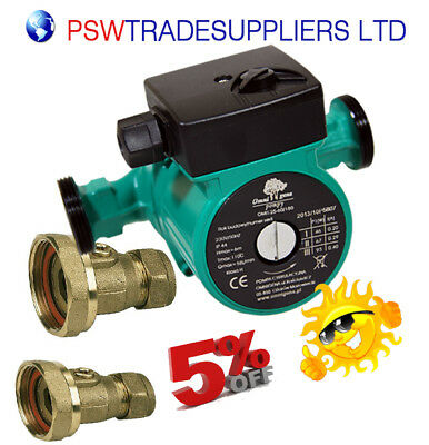 Central Heating Circulator Pump25-40-130 For Hot Water Heating System