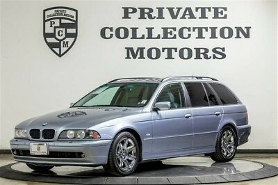 2003 BMW 5-Series Base Wagon 4-Door 2003 BMW 525iTA Wagon 1 Owner Clean Carfax Original Miles Well Kept
