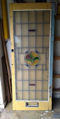 stained glass door - offers welcome