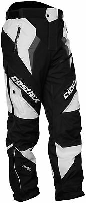 Castle X Racewear Fuel G5 Mens Snowmobile Pants Black/White 2XL