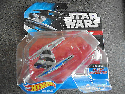 Hot Wheels Star Wars Die Cast Vulutre Droid DRX11 Collectible 2015 Starship N111