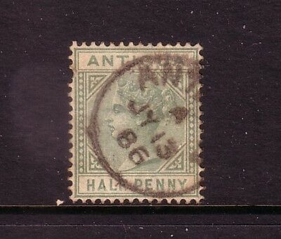 ANTIGUA....  1882  ½d green used