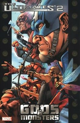 Ultimates 2 Tp Vol 01 Gods And Monsters Marvel Comics New Softcover