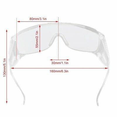 PC Safety Protective Dustproof Glasses Beauty Instrument Red Laser Goggles AU