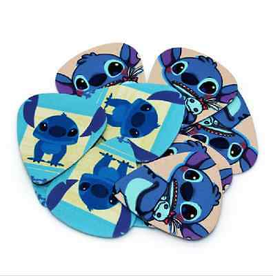 Stitch Lilo Guitar Picks Lot of 10 .71 mm Acoustic Electric Free Tracking New