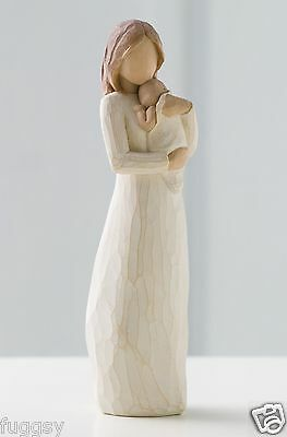 Angel of Mine Mother & Child Willow Tree Figurine By Susan Lordi  26124