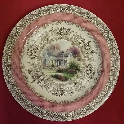 Large Thomas Kinkade Collector Plate Limited Edition Rare & Collector Plates Thomas Kinkade Decorative Collectible Brands ...