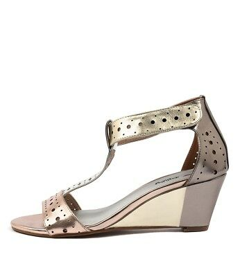 New I Love Billy Blanche Rose Metallic M Womens Shoes Casual Sandals Heeled