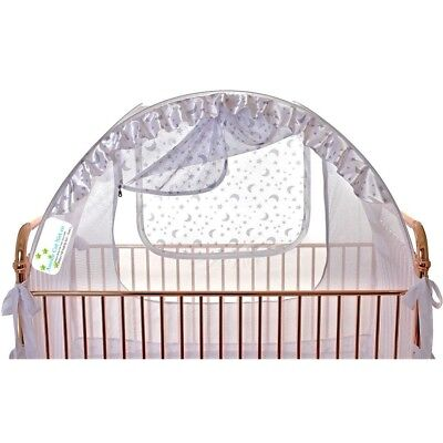 Crib Tent Baby Safety Net Canopy Pop Up Cover Fit Best Secure Safe Strong Soft