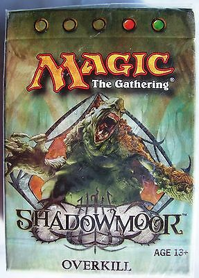Magic The Gathering MTG SHADOWMOOR Theme Deck OVERKILL - New & Sealed
