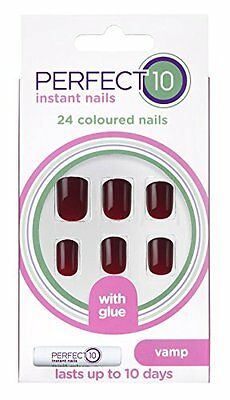 Elegant Touch Perfect 10 Polished Nails - Garnet (previously Vamp)