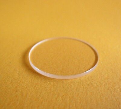 2.0mm Thick Flat Watch Crystal 17.5mm-50mm Mineral Wristwatch Glass Watch Parts