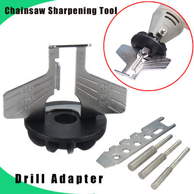 Saw Sharpening Tool Attachment Rotary Power Drill Accessories Hand Sharpener