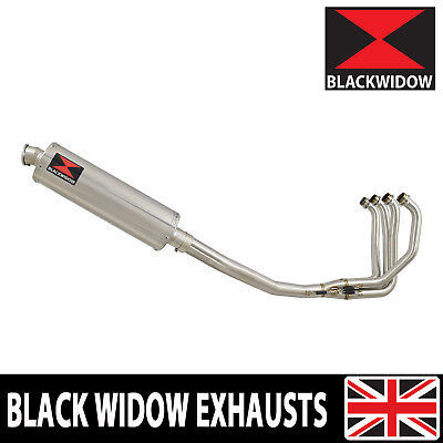 Kawasaki Zxr 750 Exhaust System J K L M 91-95 + Oval Stainless Silencer 400Ss