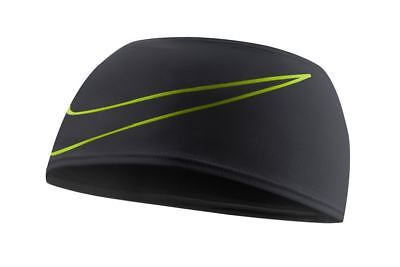 Nike- Dri-Fit Swoosh Running Headband- Black-