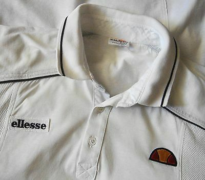 POLO T-SHIRT  vintage 70's ELLESSE  TG.48 - S /M made in Italy  RARE