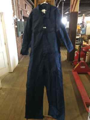 USA MADE DOGS 5XL Tall Navy Work Coveralls NEW! FREE SHIPPING!! +SW+