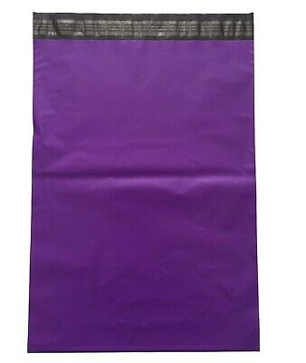 "50 x Strong Large Purple Postal Mailing Bags Sacks 10x14"" *OFFER NEW LOT*"