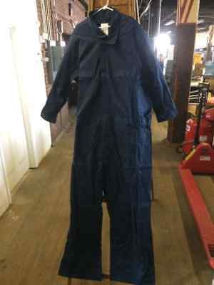 USA MADE DOGS 6XL Regular Navy Work Coveralls NEW! FREE SHIPPING!! +SW+
