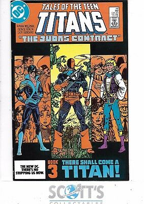 New Teen Titans  #44  VF/NM  1st Nightwing!