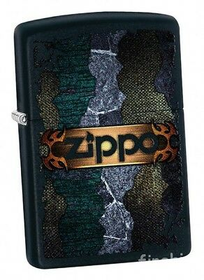 ELEGANT GRUNGE Black Matte ZIPPO neu+ovp COLLECTION 2018