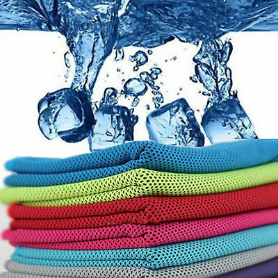 Instant Cooling Towel Sports Ice Cold Running Jogging Gym Chilly Pad Fitness