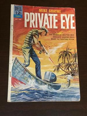 Mike Shayne Private Eye #3 Dell Comics GD/VG