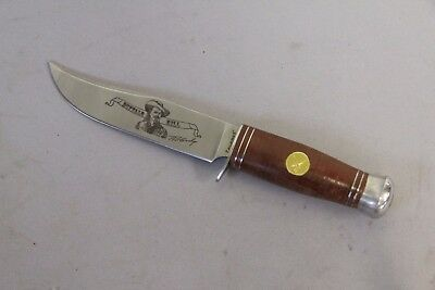 Falkner Knife Limited Edition Bowie Knife Buffalo Bill The Wild West Collection