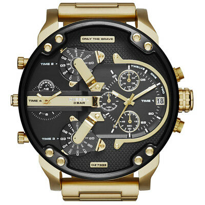 *new* Diesel Dz7333 Mens Mr Daddy 2.0 57Mm Chronograph Watch - 2 Year Warranty