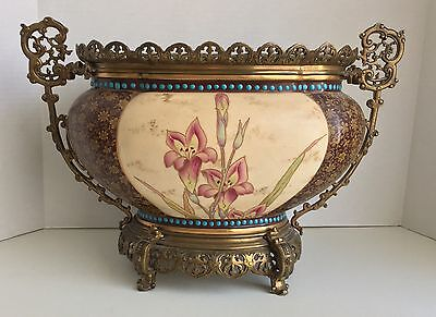 French Bronze Mounted Jardiniere 19th c. E. Bourgeois, Paris