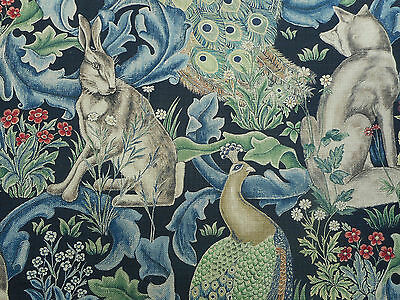 William Morris Curtain Upholstery Fabric Forest 2 75 Metres 275cm