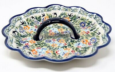 Polish Pottery Egg Plate from Zaklady Boleslawiec 1559/56