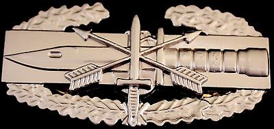 Special Forces Combat Action Badge Army CAB Military Airborne Insignia NEW Pin