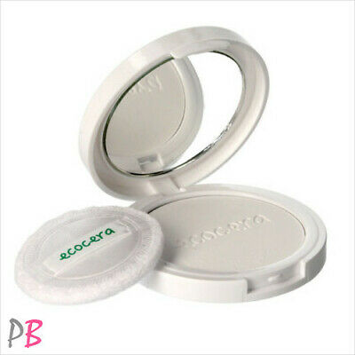 Ecocera Rice Face Powder Compact Pressed Paraben Free Translucent ECO