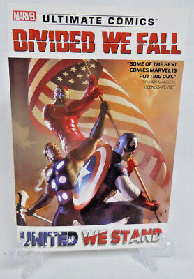 Ultimate Comics Divided We Fall United We Stand Marvel TPB Trade Paperback New