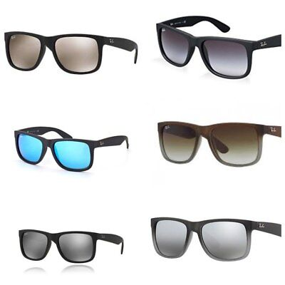 62825dd5fbc1 NEW RAY-BAN RB4165 55mm Justin Wayfarer Sunglasses-Choose Color ...