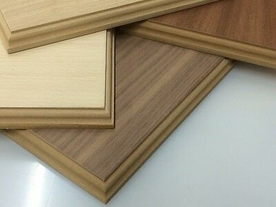 Hard wood Veneer display bases and plinths Many size options
