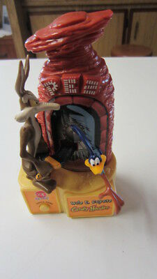 1998, PEZ Mechanical / Motion Wile E. Coyote Candy Hander / Dispenser