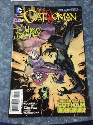 THE NEW 52 CATWOMAN 26 The JOKERS DAUGHTER