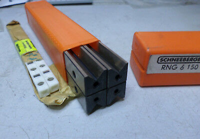 SCHNEEBERGER LINEAR GUIDEWAY -- 150mm Long -- Size 6 -- Qty of 2 -- RNG 6 150