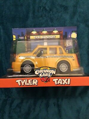 Tyler Taxi 1997 Chevron Collectable Toy Car Brand New