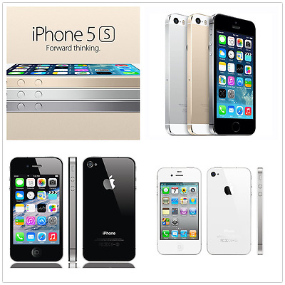 New in Sealed Box Factory Unlocked APPLE iPhone 4S 5S Gold 16-64GB GSM Smartphon