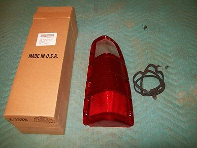 New 1972 73 74 75 76 77 78 79 80 Dodge Truck Ramcharger Right Tail Light Lens