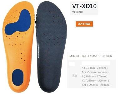 VICTOR XD8 badminton squash tennis shoes insole High Elasticity Sports VT-XD8