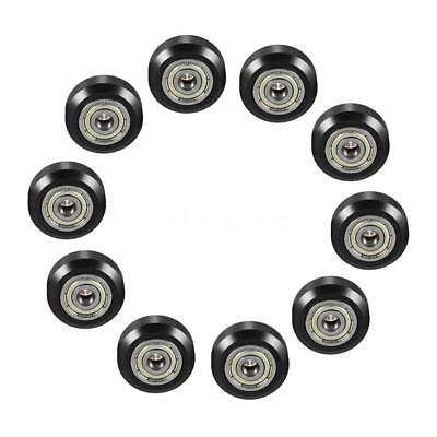 10/20PCS Lot CNC i3 3D Printer POM Passive Round Wheel Pulley with Bearing Gear