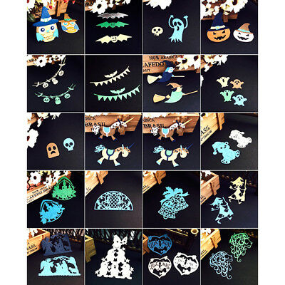 NEW Style Christmas Halloween Metal Cutting Dies Stencil Scrapbooking Template