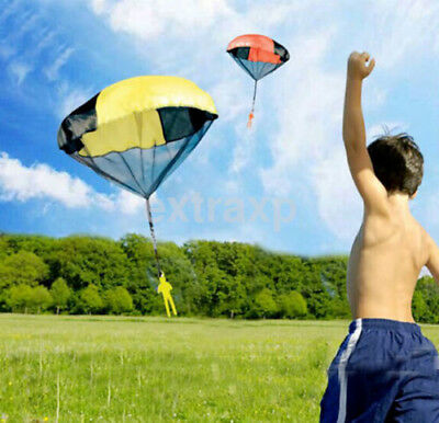 Kids Play Throwing Hand Outdoor Parachute Mini Children's Educational Toys New